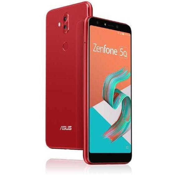 【送料無料】ASUS ZC600KL-RD64S4 ルージュレッド Zenfone 5Q [SIMフリースマートフォン]