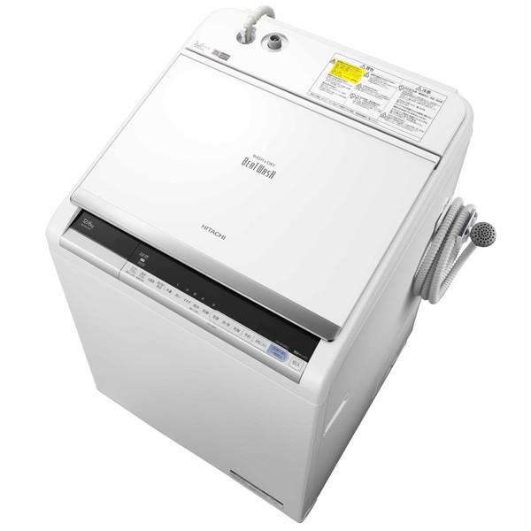 【送料無料】日立 BW-DV120C(W) ホワイト ビートウォッシュ [洗濯乾燥機(12.0kg)]