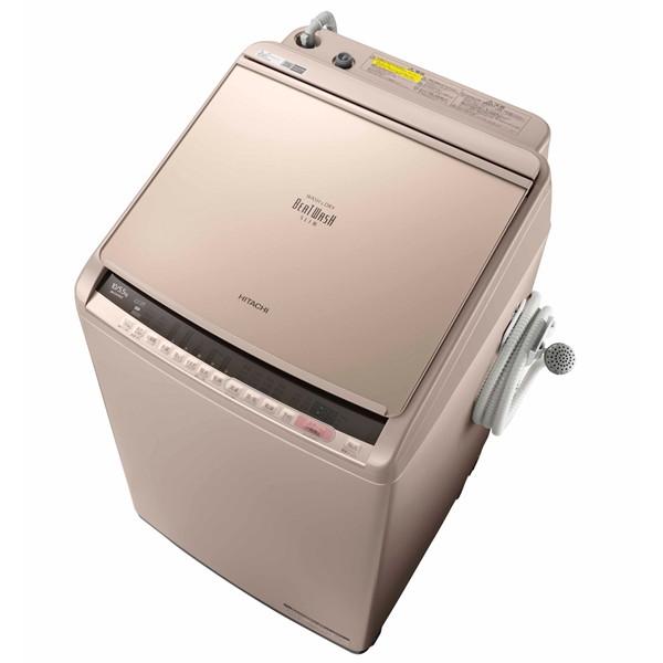 【送料無料】日立 BW-DV100C シャンパン ビートウォッシュ [洗濯乾燥機(10.0kg)]