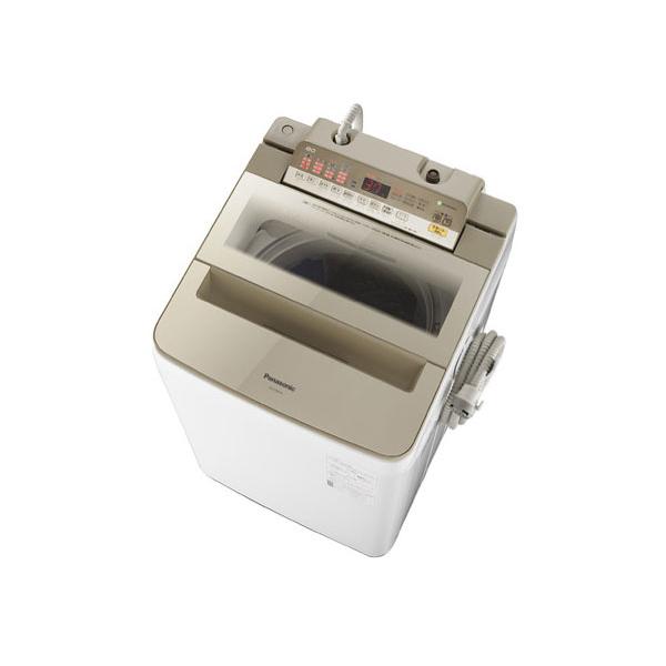 【送料無料】PANASONIC NA-FA80H6-N シャンパン [全自動洗濯機 (洗濯8.0kg)]【クーポン対象商品】