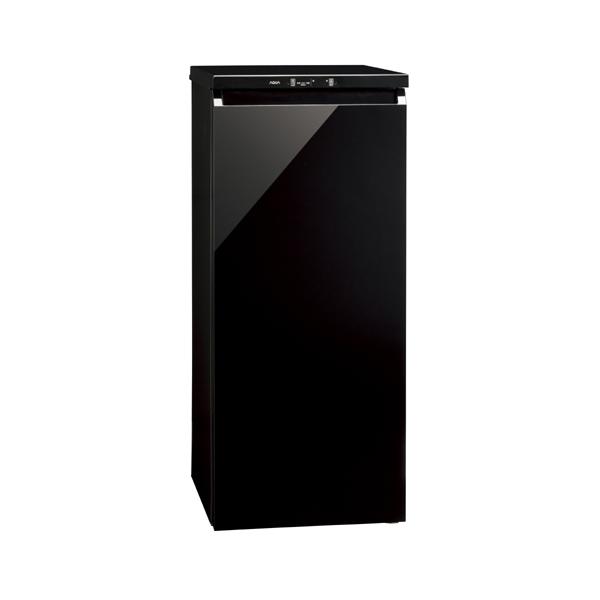 【送料無料】AQUA AQF-GS13G クリスタルブラック [冷凍庫 (134L・右開き)]