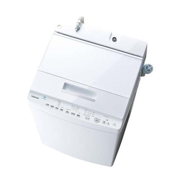 【送料無料】東芝 AW-7D7 グランホワイト ZABOON [簡易乾燥機能付洗濯機(7.0kg)]