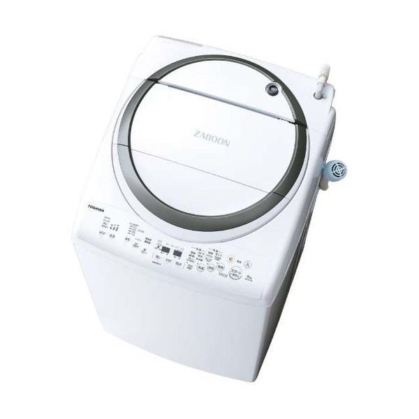 【送料無料】東芝 AW-8V7 シルバー ZABOON [洗濯乾燥機(洗濯8.0kg/乾燥4.5kg)]