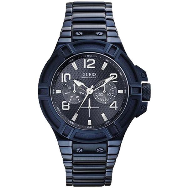 【送料無料】GUESS W0218G4 RIGOR [クォーツ腕時計(メンズ)] 【並行輸入品】