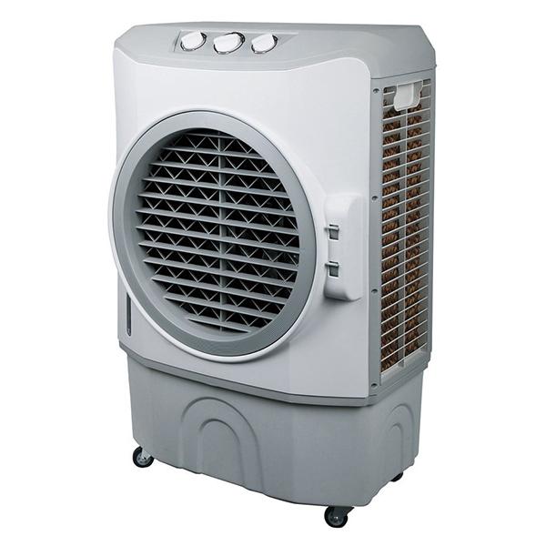 工場や作業場の熱中症対策に 扇風機 工業向け ユアサプライムス YAC-B40V [大型水風扇(工業扇風機)] オートルーバー機能 風量切替3段階