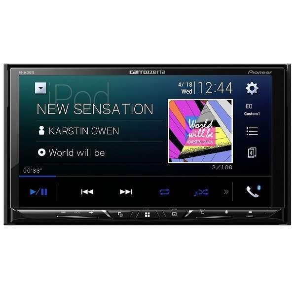 PIONEER FH-9400DVS carrozzeria [7V型ワイドVGAモニター/DVD-V/VCD/CD/Bluetooth/USB/チューナー・DSPメインユニット]