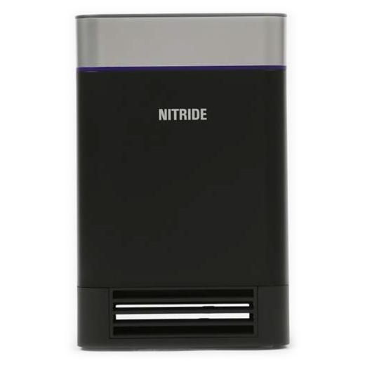 【送料無料】NITRIDE LEDピュアAM1(黒) ナイトライド 光触媒 UV-LED 蚊取り インフルエンザ対策 [UV殺菌消臭器]