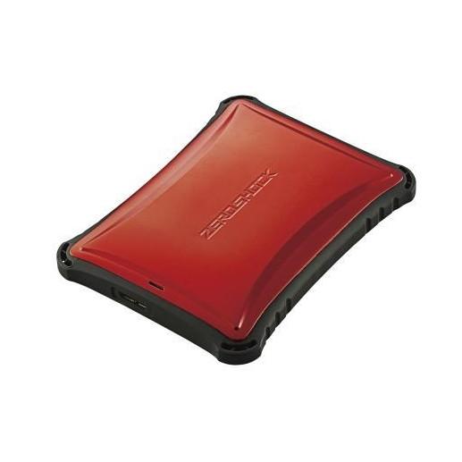 【送料無料】ELECOM ELP-ZS010URD ELECOM Portable Drive USB3.0 1TB Red ZEROSHOCK【同梱配送不可】【代引き不可】【沖縄・離島配送不可】