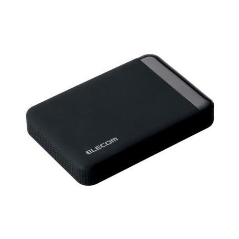 【送料無料】ELECOM ELP-QEN010UBK ELECOM SeeQVault Portable Drive USB3.0 1.0TB Black 【同梱配送不可】【代引き・後払い決済不可】【沖縄・離島配送不可】
