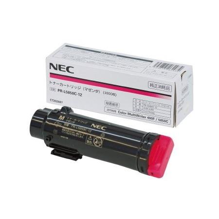 【送料無料】NEC PR-L5850C-12 マゼンタ [トナーカートリッジ]【同梱配送不可】【代引き不可】【沖縄・離島配送不可】