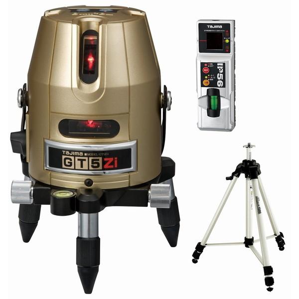 【送料無料】タジマ GT5Z-ISET [レーザー墨出し器 受光器・三脚セット(矩十字・横)]