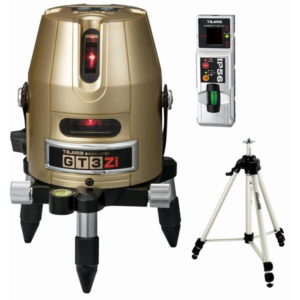 【送料無料】タジマ GT3Z-ISET [レーザー墨出し器 受光器・三脚セット(矩・横)]