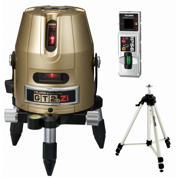 【送料無料】タジマ GT2BZ-ISET [レーザー墨出し器 受光器・三脚セット(縦・横・地墨 )]