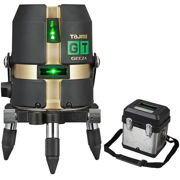 ハイパワーダイレクトグリーンレーザー タジマ GT4G-I [レーザー墨出し器(矩・横・両縦)]