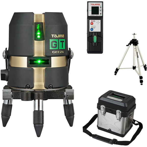 【送料無料】タジマ GT3G-ISET [レーザー墨出し器 受光器・三脚セット(矩・横)]