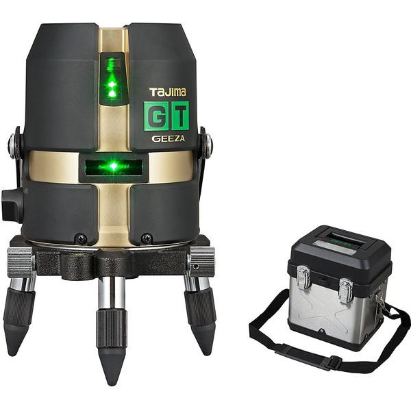 ハイパワーダイレクトグリーンレーザー タジマ GT3G-I [レーザー墨出し器(矩・横)]
