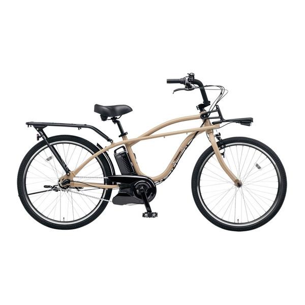【送料無料】PANASONIC BE-ELZC63A-Y デザートイエロー BP02 [電動自転車(26インチ・内装3段変速)]【同梱配送不可】【代引き不可】【本州以外配送不可】