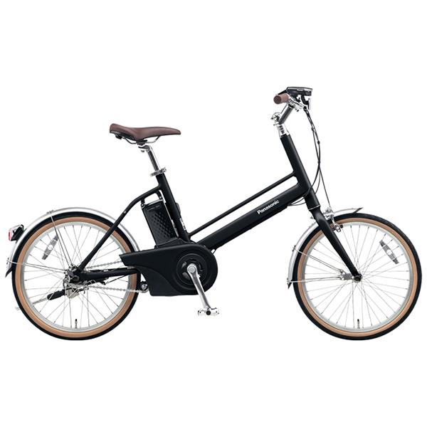 【送料無料】PANASONIC BE-JELJ01A-B マットナイト Jコンセプト [電動自転車(20インチ)]【同梱配送不可】【代引き不可】【本州以外配送不可】