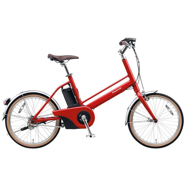 【送料無料】PANASONIC BE-JELJ01A-R レッドリーブス Jコンセプト [電動自転車(20インチ)]【同梱配送不可】【代引き不可】【本州以外配送不可】