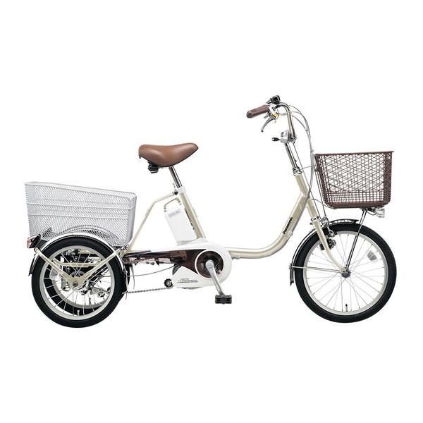 【送料無料】PANASONIC BE-ELR832-T STチタンシルバー ビビライフ [電動自転車(18/16インチ・内装3段変速)]【同梱配送不可】【代引き不可】【本州以外配送不可】