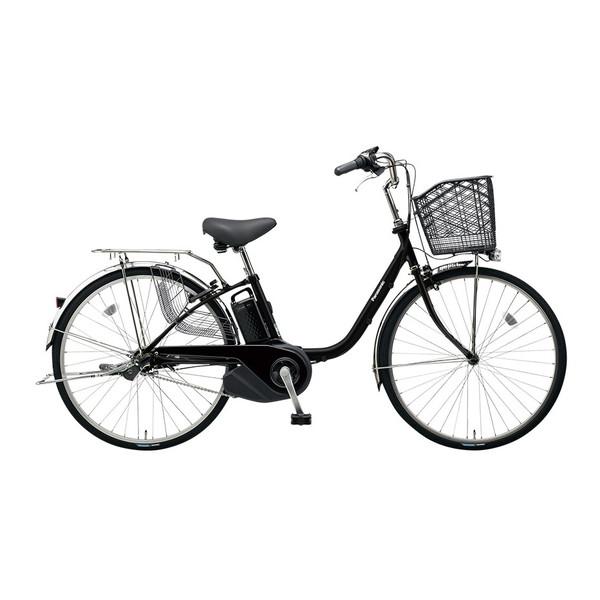 【送料無料】PANASONIC BE-ELSX43-B マットブラック ビビ・SX [電動自転車(24インチ・内装3段変速)]【同梱配送不可】【代引き不可】【本州以外配送不可】