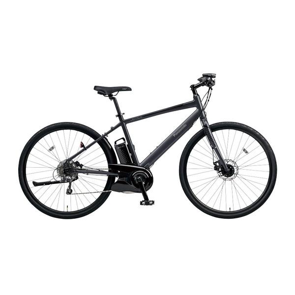 【送料無料】PANASONIC BE-ELHC49A-B マットチャコールブラック ジェッター [電動自転車(700×38C・外装8段変速・フレームサイズ490mm)]【同梱配送不可】【代引き不可】【本州以外配送不可】