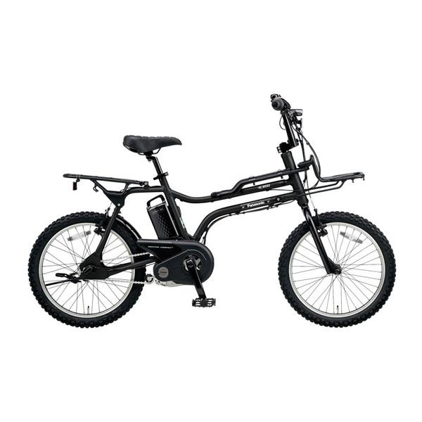 【送料無料】PANASONIC BE-ELZ032A-B マットナイト EZ [電動自転車(20インチ・内装3段変速)]【同梱配送不可】【代引き不可】【本州以外配送不可】