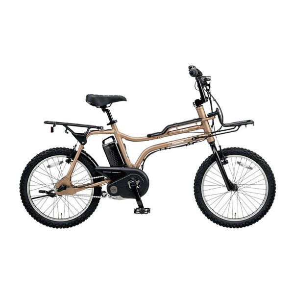 【送料無料】PANASONIC BE-ELZ032A-T マットゴールド EZ [電動自転車(20インチ・内装3段変速)]【同梱配送不可】【代引き不可】【本州以外配送不可】