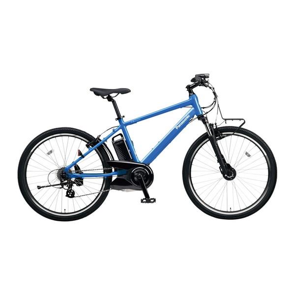 【送料無料】PANASONIC BE-ELH242B-V フラッシュアクア ハリヤ [電動自転車(26インチ・外装7段変速)]【同梱配送不可】【代引き不可】【本州以外配送不可】