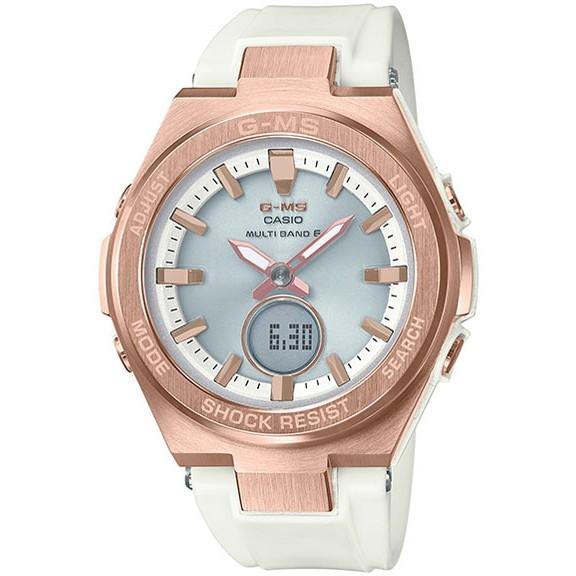 【送料無料】CASIO(カシオ) MSG-W200G-7AJF ピンク×ホワイト Baby-G G-MS [ソーラー腕時計 (レディースウオッチ)]
