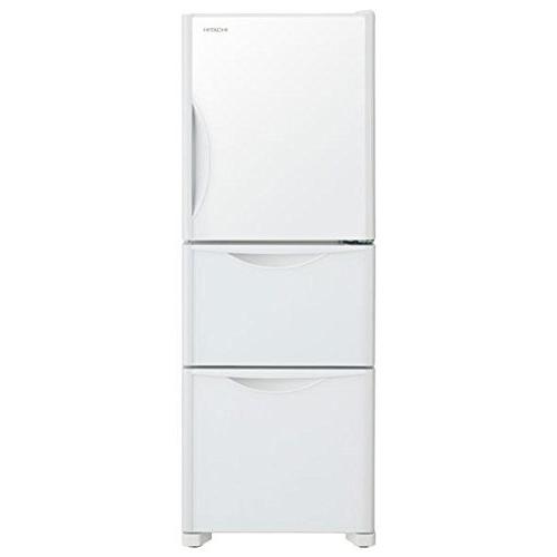 【送料無料】日立 R-S27JV-XW クリスタルホワイト [冷蔵庫(265L・右開き)]