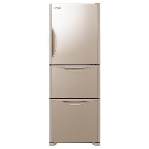 【送料無料】日立 R-S27JV-XN クリスタルシャンパン [冷蔵庫(265L・右開き)]