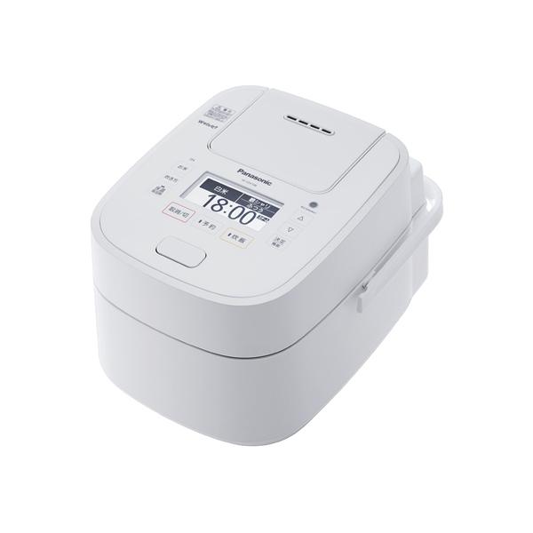 【送料無料】PANASONIC SR-VSX188-W ホワイト Wおどり炊き Wおどり炊き SR-VSX188-W ホワイト [スチーム&可変圧力IHジャー炊飯器 (1升炊き)], ビーラッシュストア:e483a546 --- m2cweb.com