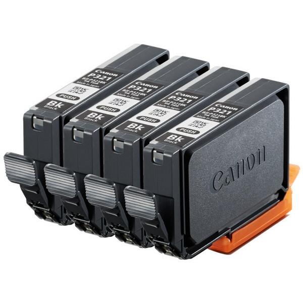 【送料無料】CANON BJI-P321BK(4P) インクタンク ブラック