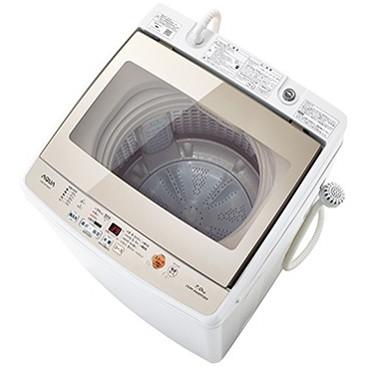 【送料無料】AQUA AQW-GV70G-W ホワイト [全自動洗濯機(7.0kg)]