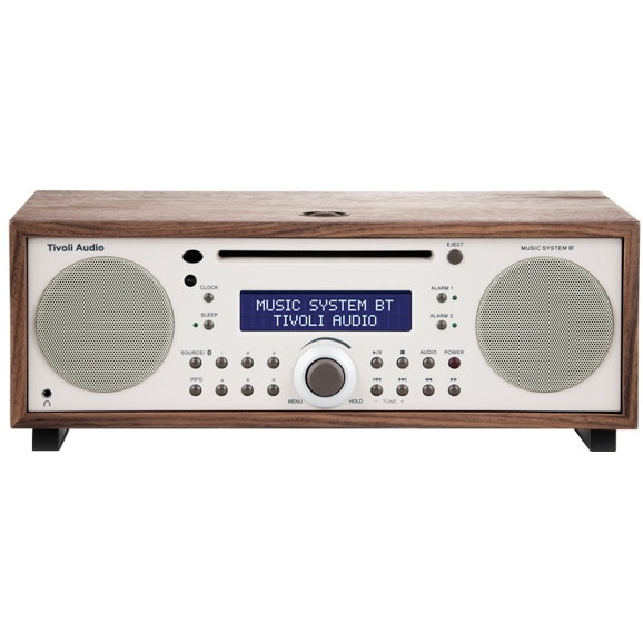 【送料無料】Tivoli Audio MSYBT-1529-JP Tivoli Music System BT Classic Walnut/Beige [Bluetooth対応ミニコンポ]