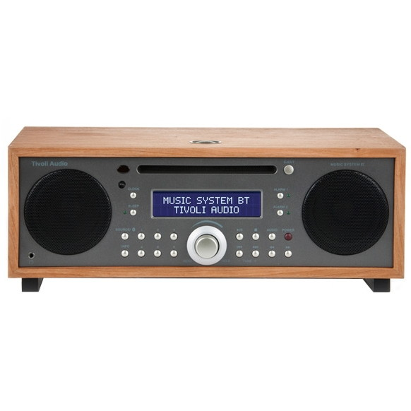 【送料無料】Tivoli Audio MSYBT-1530-JP Tivoli Music System BT Taupe/Cherry [Bluetooth対応ミニコンポ]