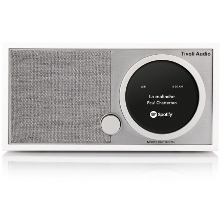 【送料無料】Tivoli Audio MOD-1748-JP Tivoli Model One Digital White/Grey [テーブルラジオスピーカー]
