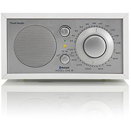 【送料無料】Tivoli Audio M1BT-1770-JP Tivoli Model One BT White/Silver [モノラルテーブルラジオ]