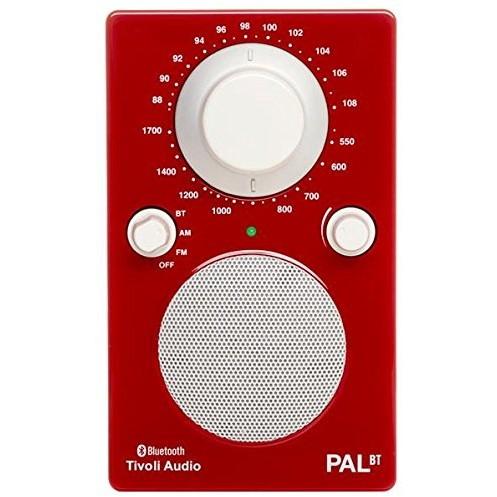 【送料無料】Tivoli Audio PALBT-1771-JP Tivoli PAL BT Glossy Red [Bluetoothワイヤレス AM/FMラジオスピーカー]