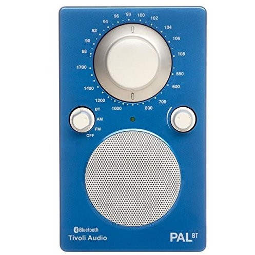 【送料無料】Tivoli Audio PALBT-1772-JP Tivoli PAL BT Glossy Blue [Bluetoothワイヤレス AM/FMラジオスピーカー]