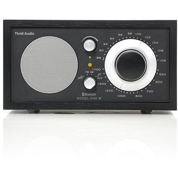 【送料無料】Tivoli Audio M1BT-1435-JP Tivoli Model One BT Black/Black [モノラルテーブルラジオ]