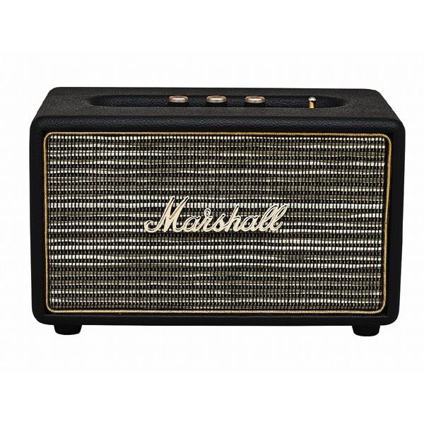 【送料無料】Marshall ZMS-04091800 Acton Bluetooth Black [Bluetooth スピーカー]