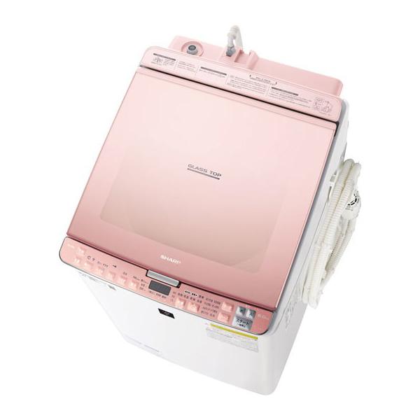 【送料無料】SHARP ES-PX8C-P ピンク [洗濯乾燥機 (洗濯8.0kg/乾燥4.5kg)]