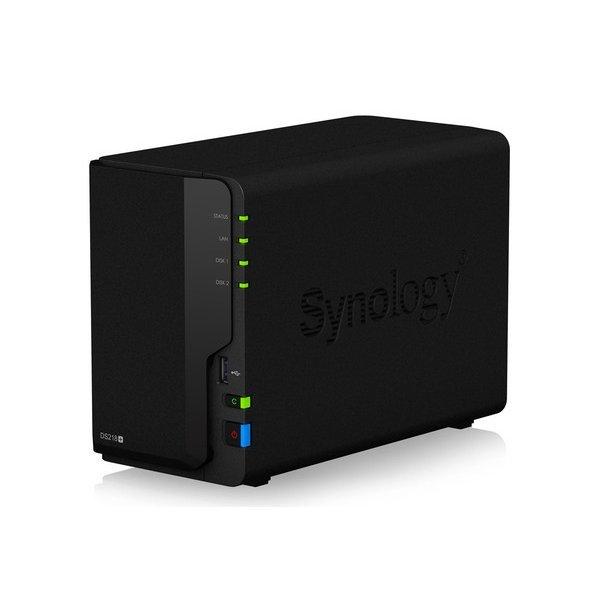 【送料無料】Synology DS218+ DiskStation [2ベイNASキット (デュアルコア Intel Celeron CPU搭載)]