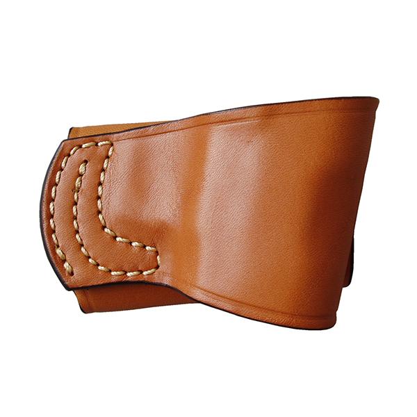 イーストA ヒップホルスター 牛革製 ブラウン ハイキャパ/ガバメント用 202 Br