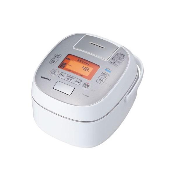 【送料無料】東芝 RC-10VSM-W グランホワイト 圧力+真空 合わせ炊き [真空圧力IHジャー炊飯器 (5.5合炊き)]