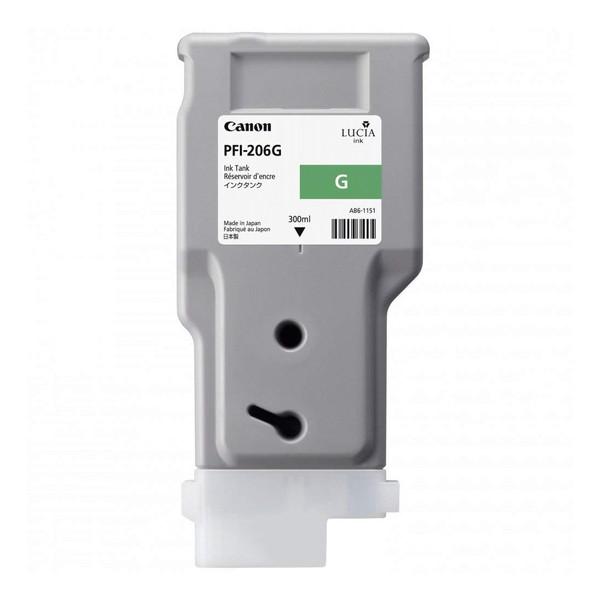 【送料無料】CANON PFI-206G グリーン [インクタンク]