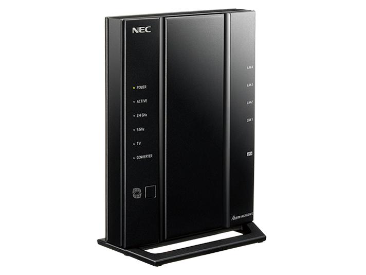 【送料無料】NEC PA-WG2600HP3 Aterm [無線LANルーター 親機単体(IEEE802.11a/b/g/n/ac・1733+800Mbps)]