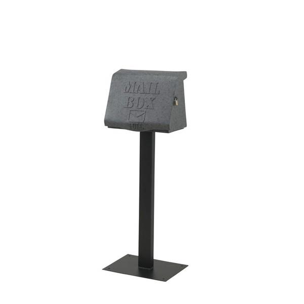 【送料無料】セトクラフト SI-2881-GY グレー リッド [スタンドポスト]【同梱配送不可】【代引き不可】【沖縄・北海道・離島配送不可】
